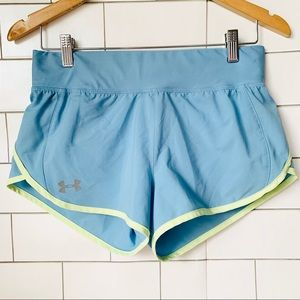 Under Armour Baby Blue Running Shorts